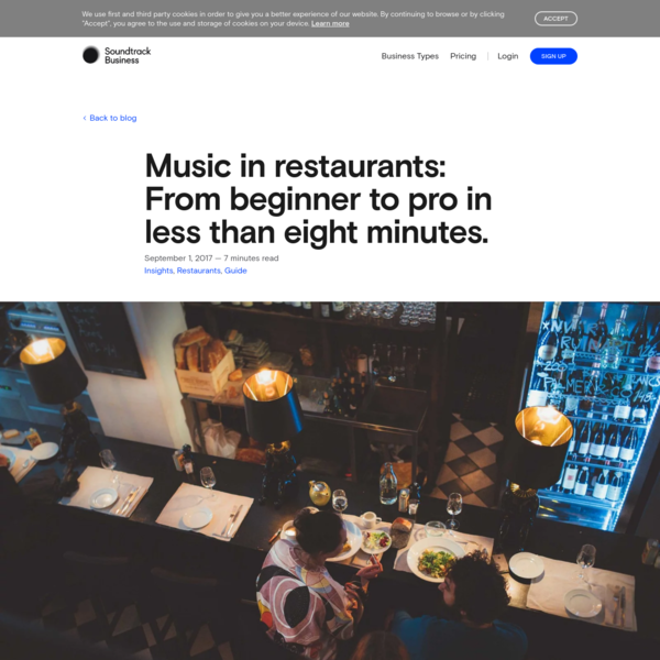 The essential guide to playing music in your restaurant. Music is key to your customer experience, so learn how you can make the most of it.