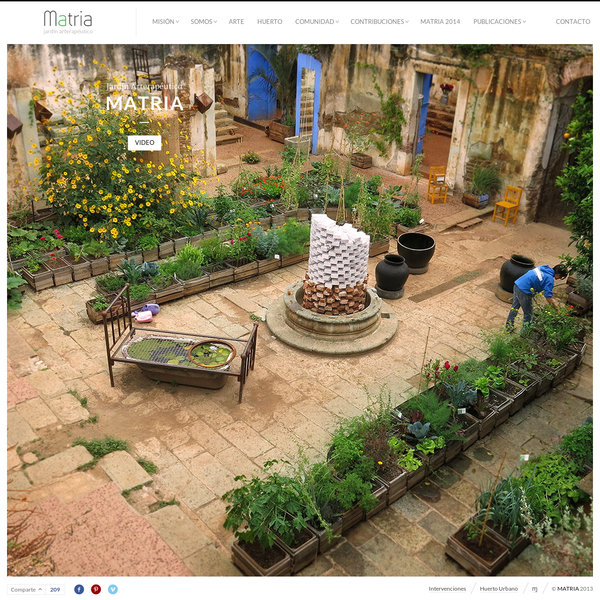 Matria - jardín arterapéutico