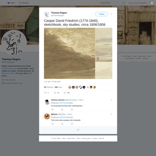 Thomas Ragon on Twitter