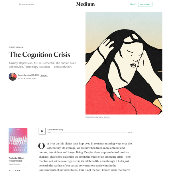 The Cognition Crisis - Future Human - Medium
