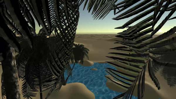 """""""Oasis or Mirage?"""" by Léa Porré / Web Residencies by Solitude & ZKM"""