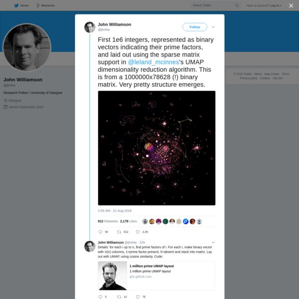 John Williamson on Twitter