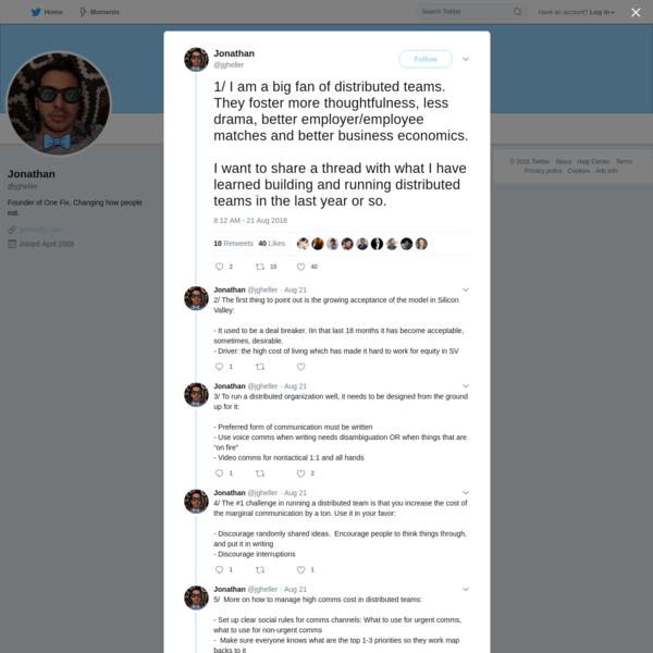 Jonathan on Twitter