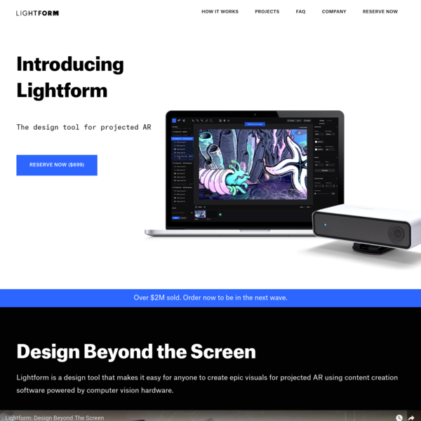 Lightform | The design tool for projected AR