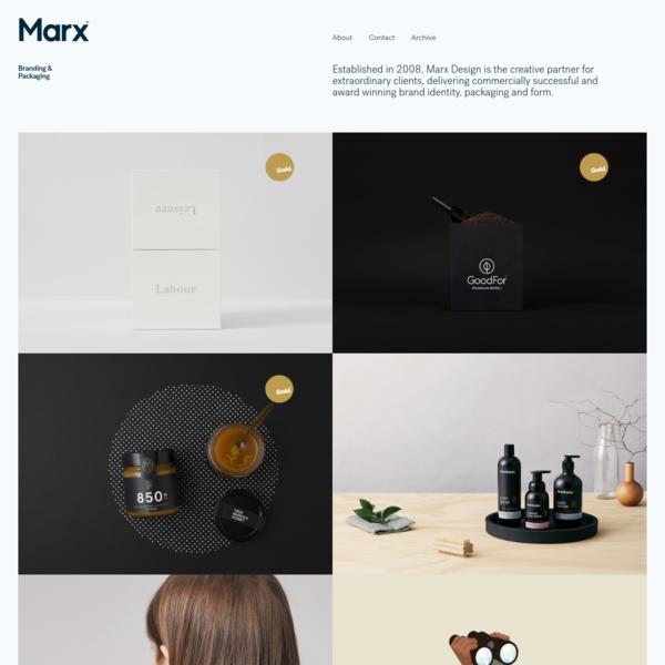 Marx Design Ltd   Branding & Packaging