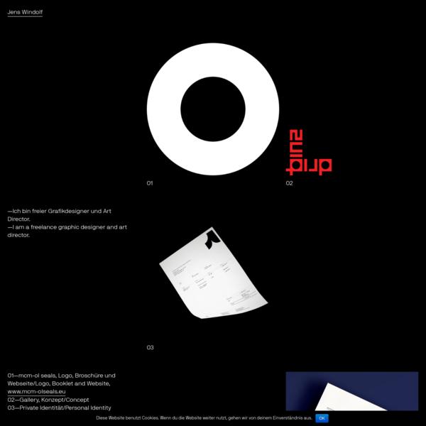 Jens Windolf - Grafikdesign und Art Direction