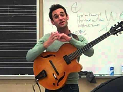 Julian Lage Guitar Workshop