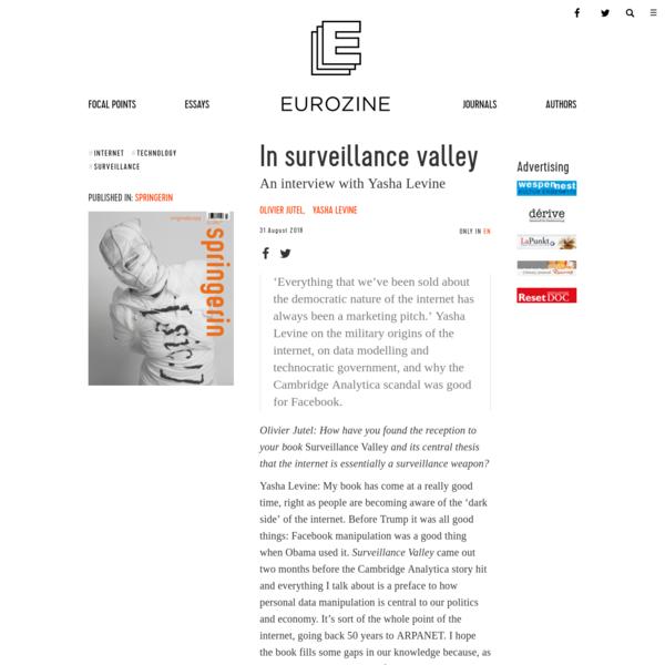In surveillance valley