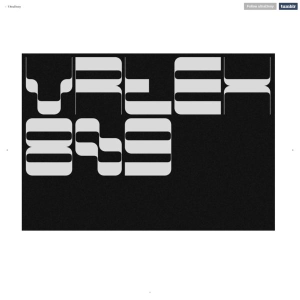 Oftest typeface