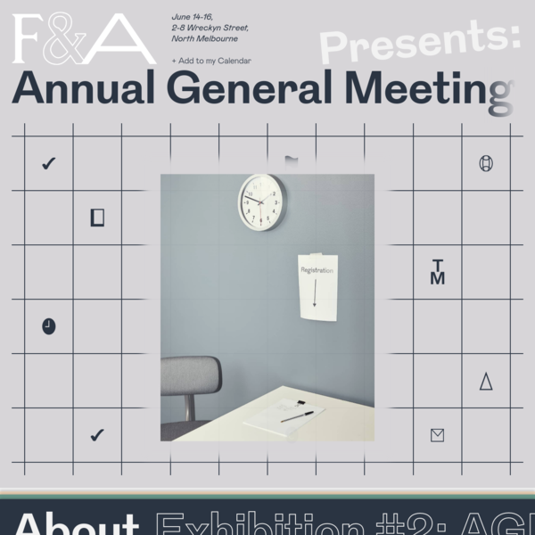 Friends & Associates presents: Annual General Meeting (A.G.M.)