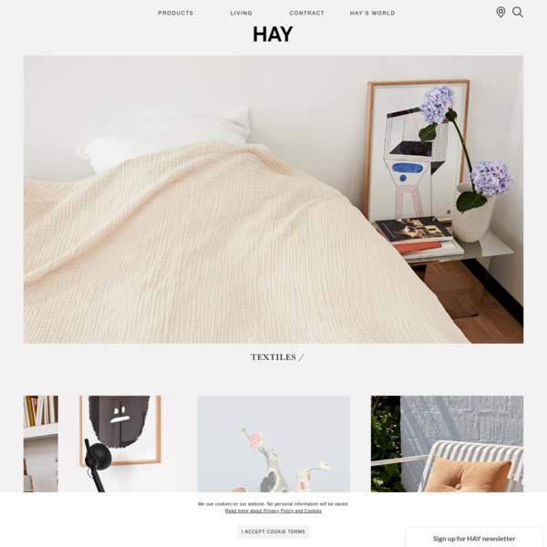 HAY.dk - latest products, designer news and retailer info