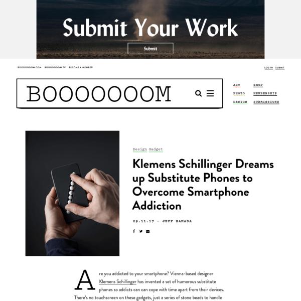 Designer Dreams up Substitute Phones to Overcome Smartphone Addiction