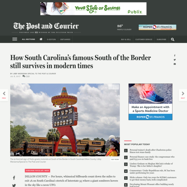 How South Carolina's famous South of the Border still survives in modern times