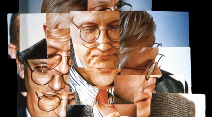 Joiner self portrait - David Hockney