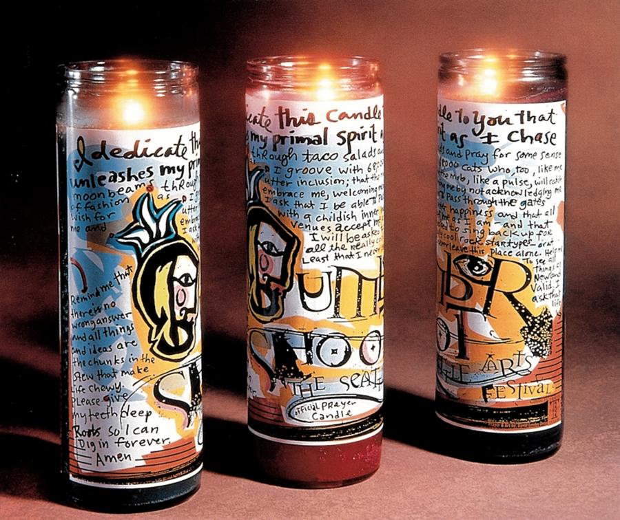 bumbershoot candle