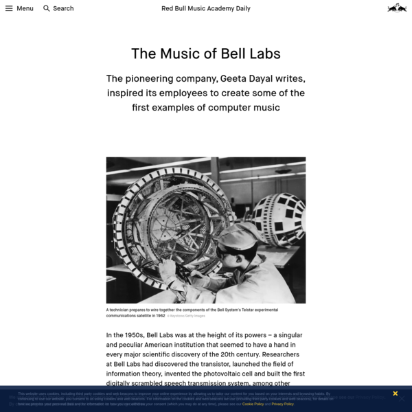 How Rocket Science and Early Computer Music Converged at Bell Labs