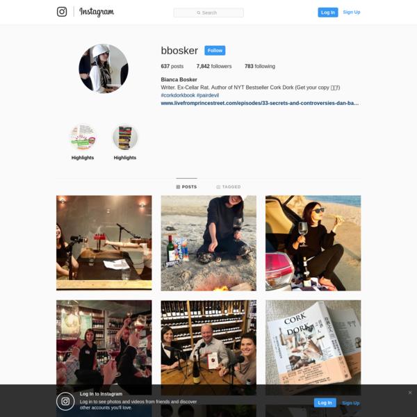 Bianca Bosker (@bbosker) * Instagram photos and videos