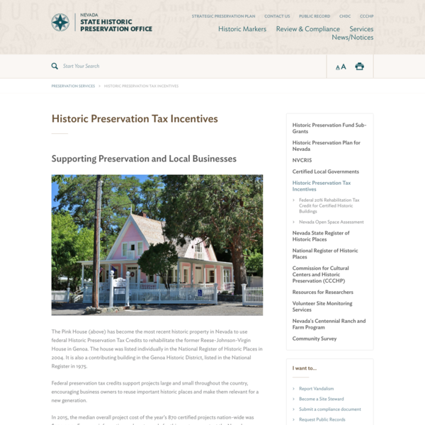 Historic Preservation Tax Incentives | SHPO