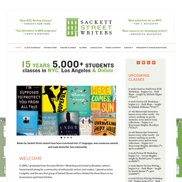 Sackett Street Writers