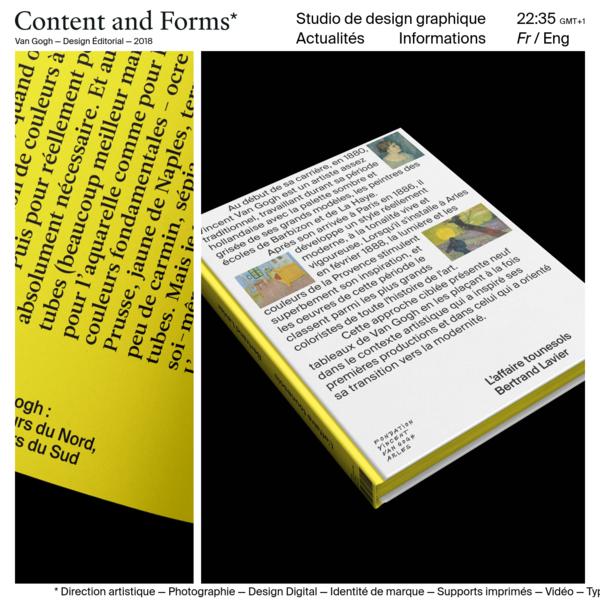 Content and Forms Studio de design graphiques