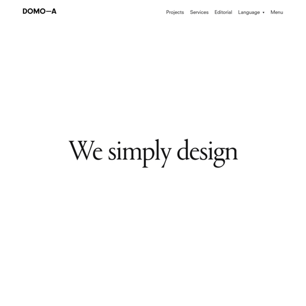 DOMO-A | Art direction & graphic design