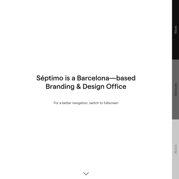 Séptimo | Barcelona-based brand and design office