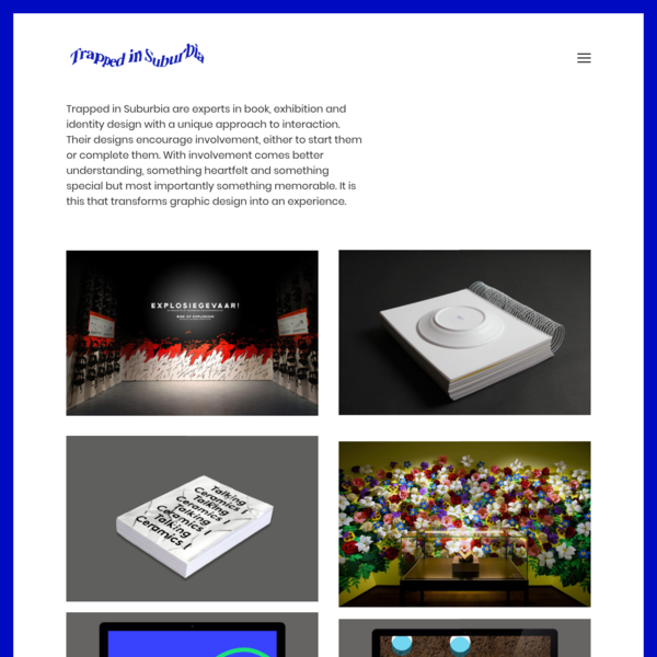 Studio Trapped in Suburbia - Experience design - Art direction - Amsterdam