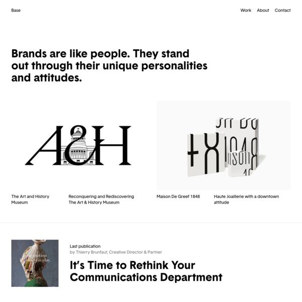 We create iconic brands