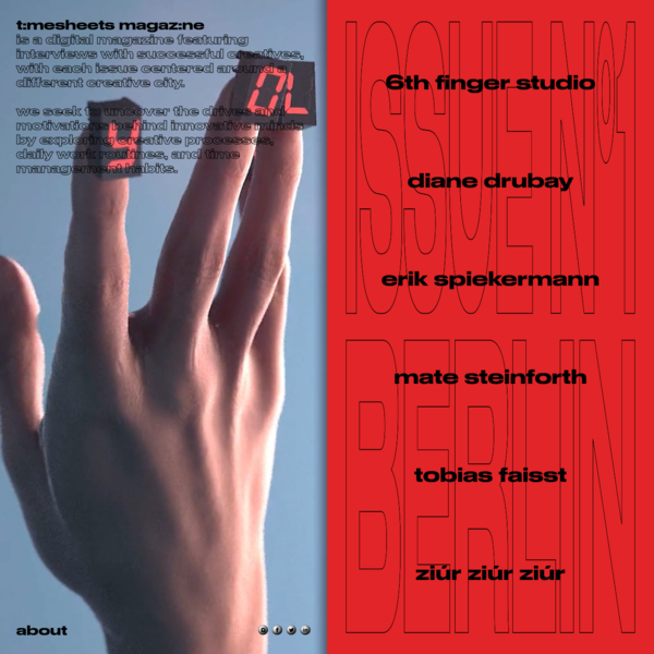 Timesheets Magazine - Berlin Issue