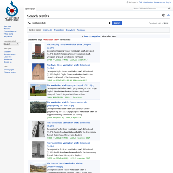 "Search results for ""ventilation shaft"" - Wikimedia Commons"