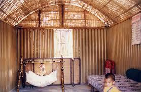 tadao ando - homeless shelter made of cardboard