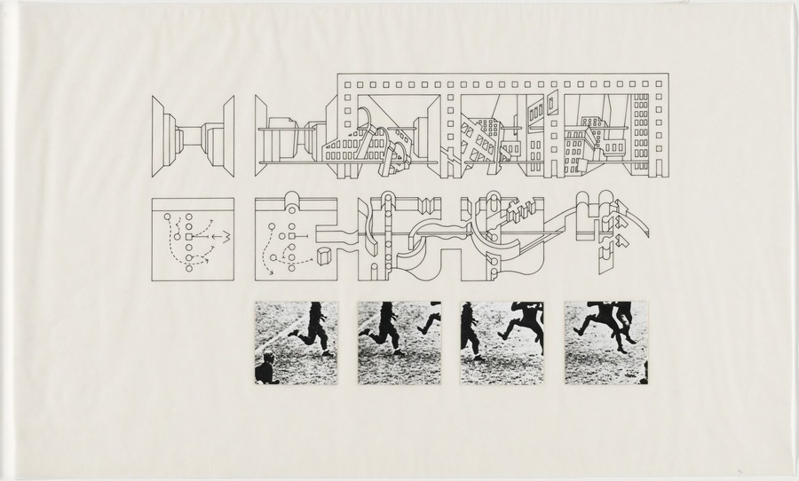 Diagram from Bernard tschumi( Explain relationship between body gestures and architectural figures)