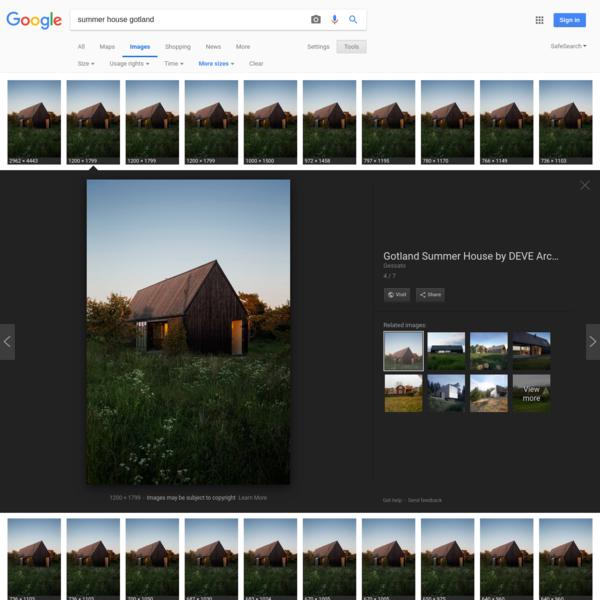 summer house gotland - Google Search