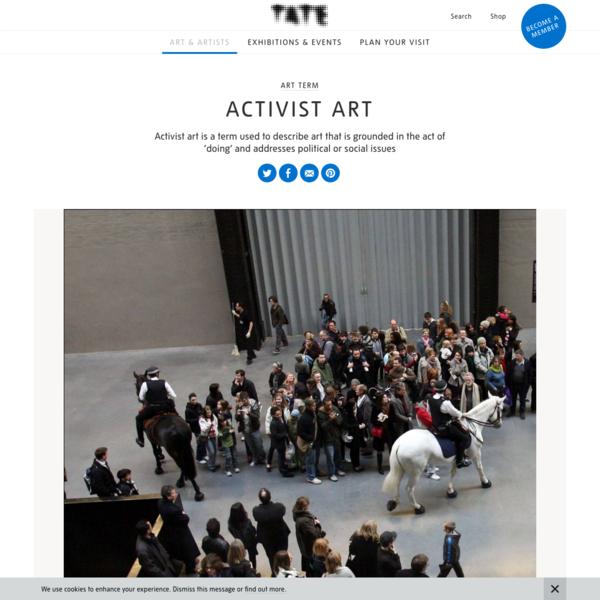 Activist art - Art Term | Tate
