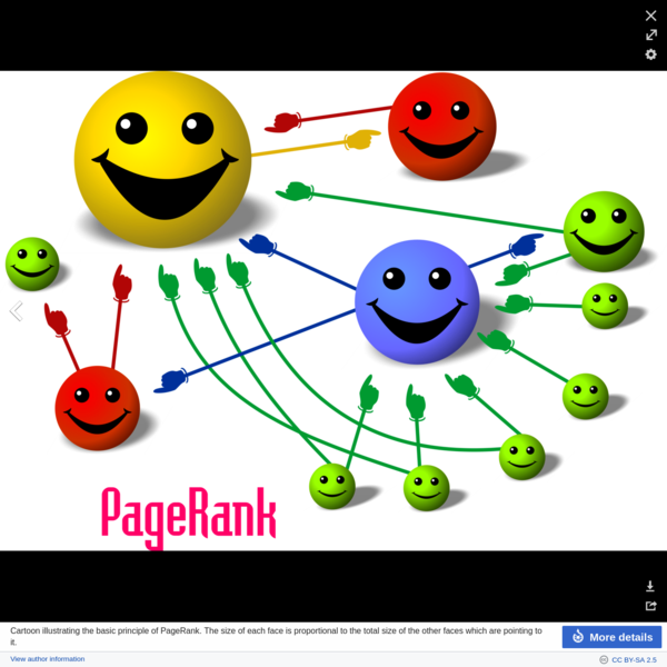 """The name """"PageRank"""" plays off of the name of developer Larry Page, as well as of the concept of a web page. The word is a trademark of Google, and the PageRank process has been patented ( U.S. Patent 6,285,999). However, the patent is assigned to Stanford University and not to Google."""