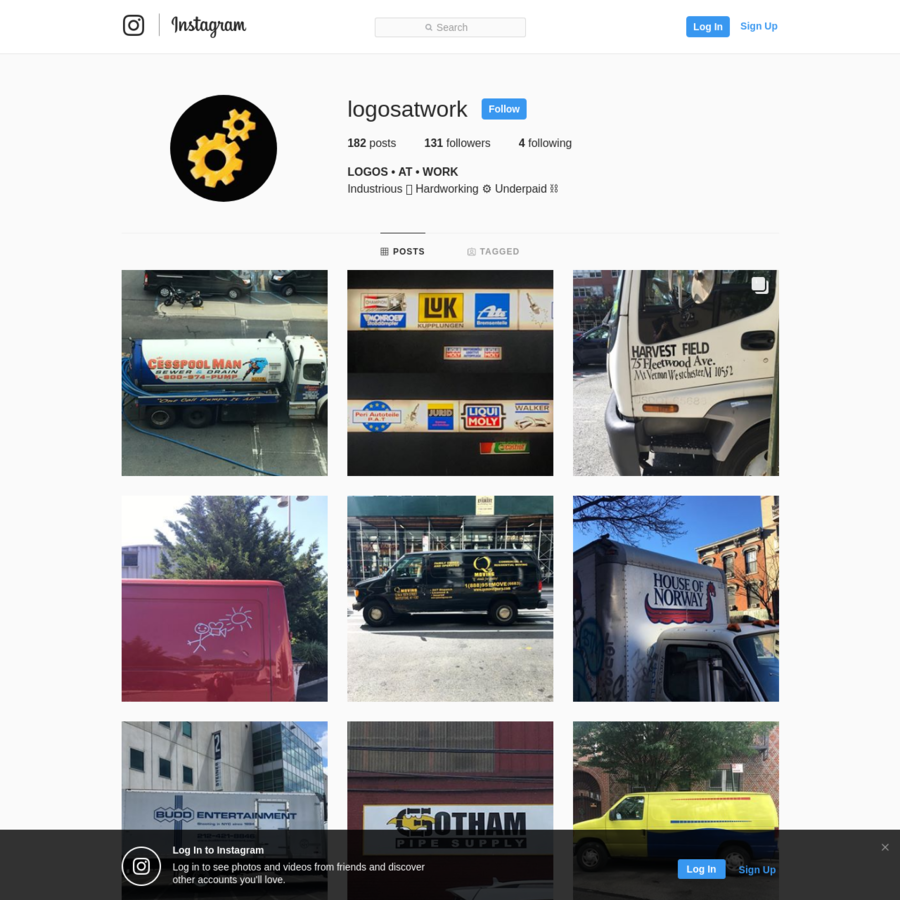131 Followers, 4 Following, 182 Posts - See Instagram photos and videos from LOGOS * AT * WORK (@logosatwork)