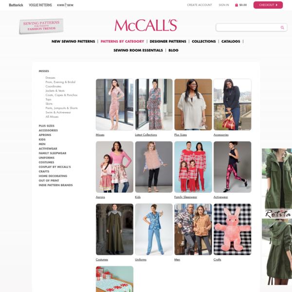 Patterns | McCall's Patterns