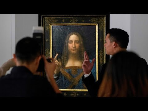 The last privately owned Leonardo da Vinci painting - and one of fewer than 20 by the Renaissance artist known to still exist - has been sold at auction in New York, with a winning bid of $400m plus auction house premium Subscribe to Guardian News ► http://bit.ly/guardianwiressub Support the Guardian ► https://theguardian.com/supportus The Guardian ► https://www.theguardian.com The Guardian YouTube network: The Guardian ► www.youtube.com/theguardian Owen Jones talks ► http://bit.ly/subsowenjones Guardian Football ► http://is.gd/guardianfootball Guardian Sport ► http://bit.ly/GDNsport Guardian Culture ► http://is.gd/guardianculture Guardian Science and Tech ► http://is.gd/guardiantech