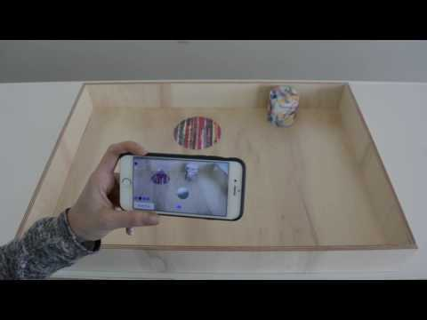 Learning and fun with Augmented Reality and Active Elements  https://www.media.mit.edu/projects/inertia/overview/