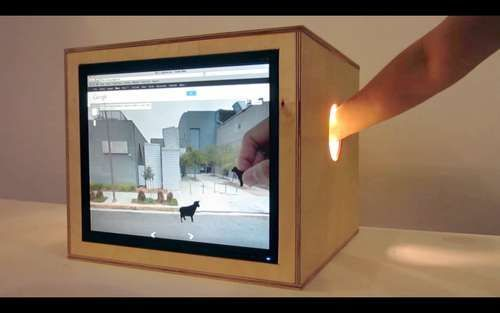 https://www.instructables.com/id/Portals-A-Networked-Mixed-Reality-Playground/