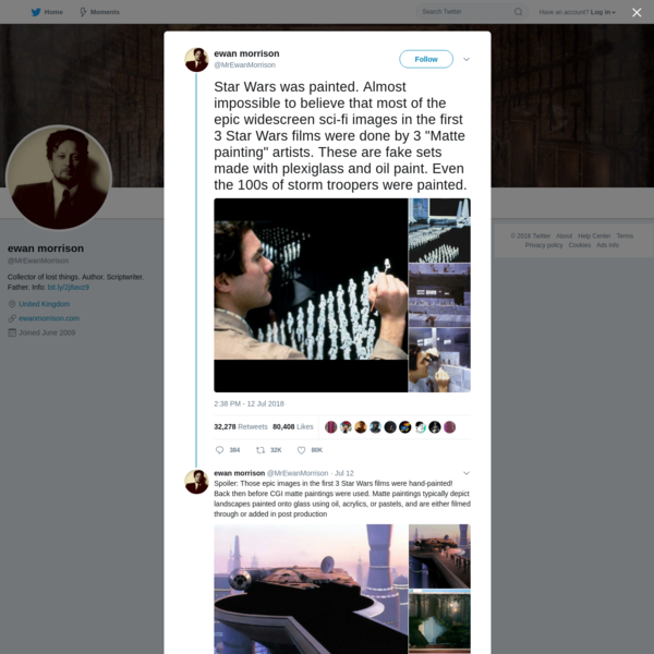 ewan morrison on Twitter