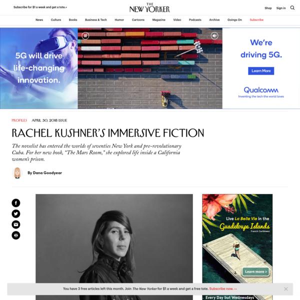 Rachel Kushner's Immersive Fiction
