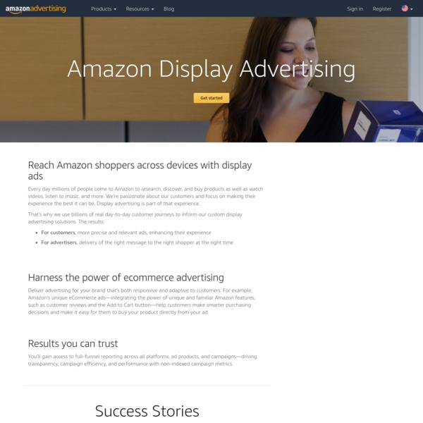 Display Advertising - Amazon Advertising