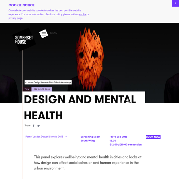 Design and Mental Health