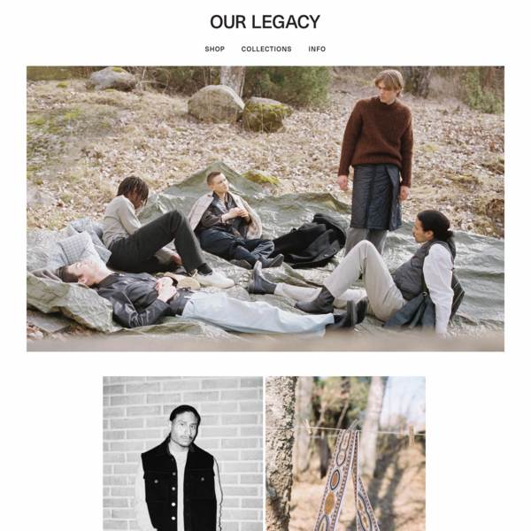 The official online store for Our Legacy - the independent Stockholm cult brand. Progressive high quality collections designed in Sweden. Spring 2018.