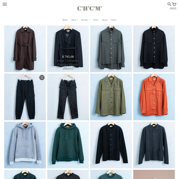 Established in 2008, C'H'C'M' is a men's clothing located on 2 Bond Street in New York.