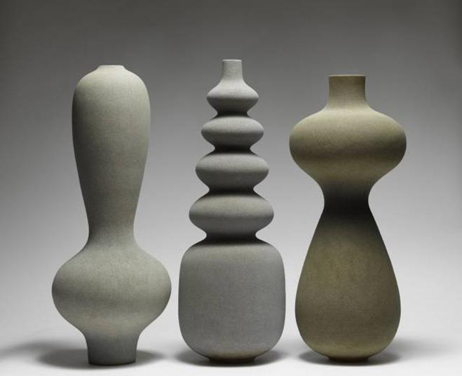 Turi Heisselberg Pedersen Monolithic Ceramic Vessels
