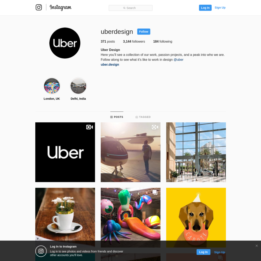 Are na / Uber Design (@uberdesign) * Instagram photos and videos
