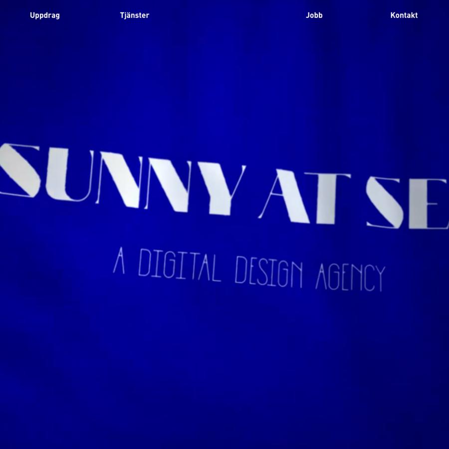 Sunny at Sea är en användarcentrerad designbyrå. Vi är problemlösare, innovatörer, strateger, utvecklare och designers.