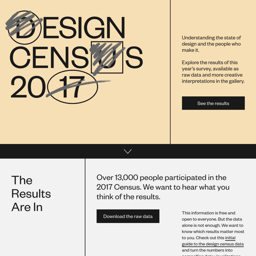 A survey to gain a better understanding of the professional design field of work.